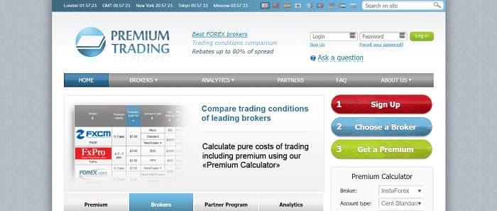 (4) Premium Trading | Forex Cashback | Highest Rates