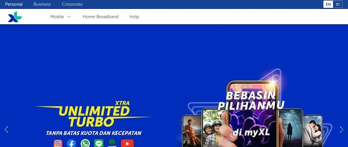 XL Axiata - Prepaid, Prioritas & XL Home Fiber