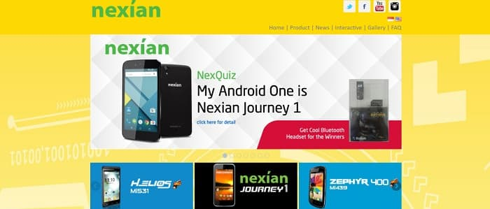 Nexian | Official Website Nexian Indonesia