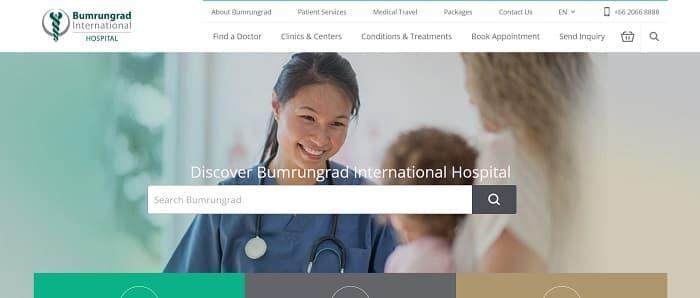 2.Bumrungrad International Hospital