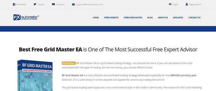 BF Grid Master EA | from FXautomater