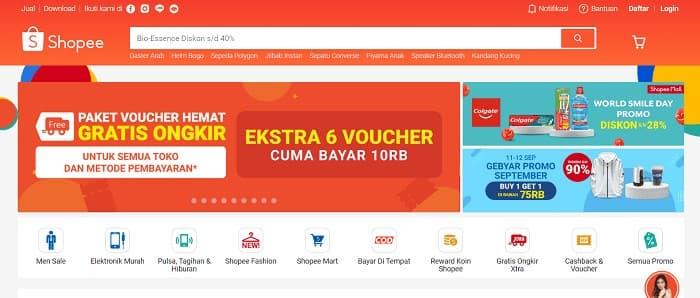インドネシアのECサイト2位 - Shopee Indonesia