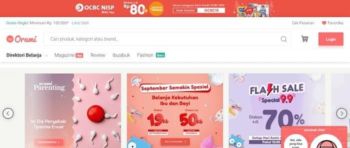 インドネシアのECサイト5位 - Blibli
