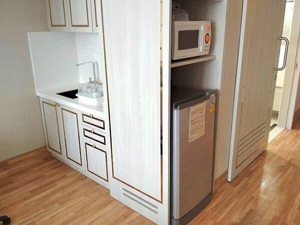 病室内に、キッチンがあります。
