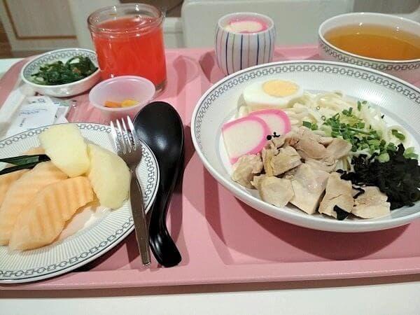 日本食の朝ごはんです。