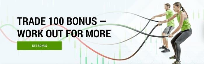 FBS[エフビーエス]の「Trade 100 Bonus」
