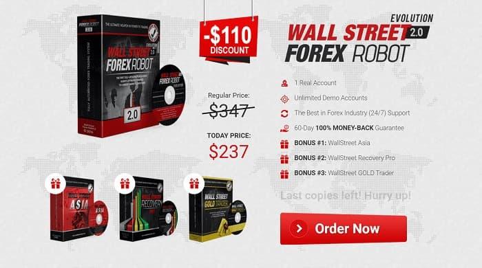 【画像付き】WallStreet Forex Robot 2.0 Evolutionの購入と返金方法