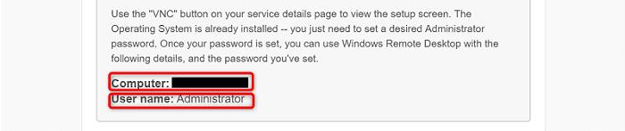 """[VirMachの使い方]手順②:VirMachから届いたメールに記載されているログイン情報を入力して""""接続(N)""""をクリック"""