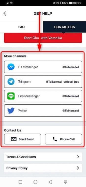 Telkomsel[テレコムセル]インターネットにつながらない場合