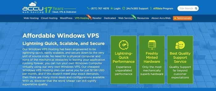 (2) AccuWeb Hosting | Cheap Windows VPS | Fastest VPS Hosting