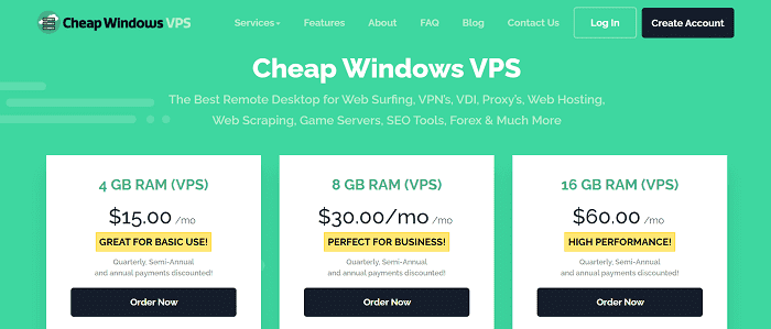 (1) Cheap Windows VPS | Hosting RDP | Forex, Reseller