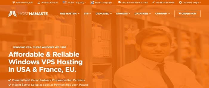 (1) HOSTNAMASTE | Cheap Windows VPS | Trusted & Fastest Windows VPS Hosting USA,EU