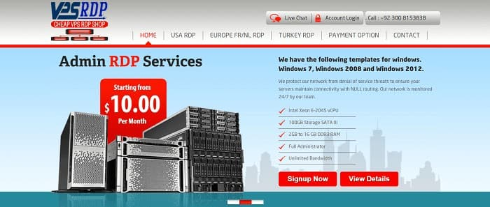 (2) VPSRDP | Cheap Windows VPS | Windows RDP | Cheap Windows RDP | 10 GBPs Network RDP