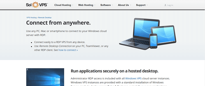 (5) SolVPS | Remote Desktop (RDP) Hosting - VPS Hosting