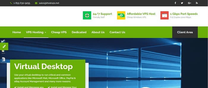(9) iHost VPS | Buy RDP - Virtual Desktop Online