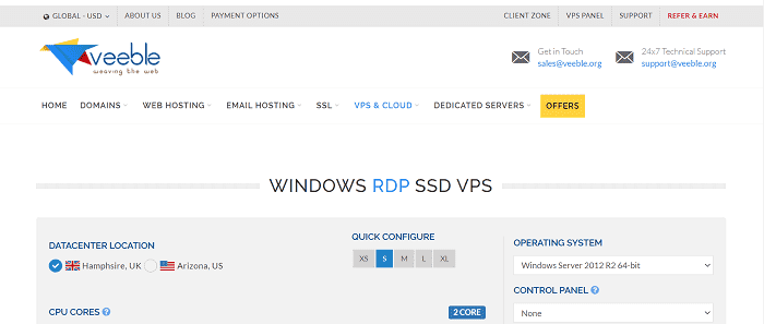 (1) Veeble | Cheap Windows VPS Remote Desktop - RDP VPS - RDP VPS Hosting