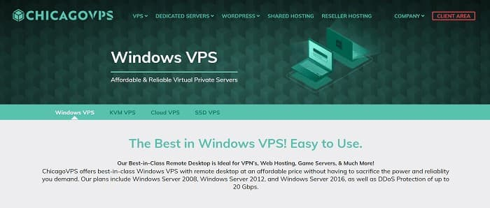 (3) ChicagoVPS | Windows VPS | VPS Hosting