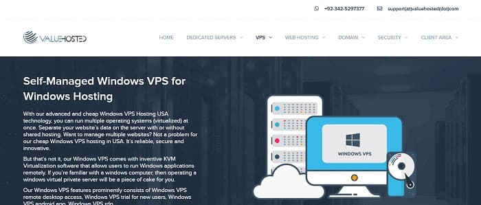 (4) Valu Hosted | Cheap Windows VPS Hosting USA | Best Windows VPS USA